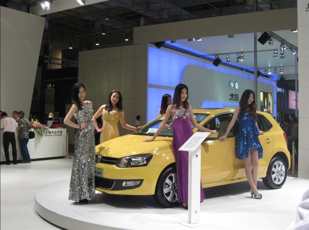 青岛国际车展,上海大众汽车尽显王者风范